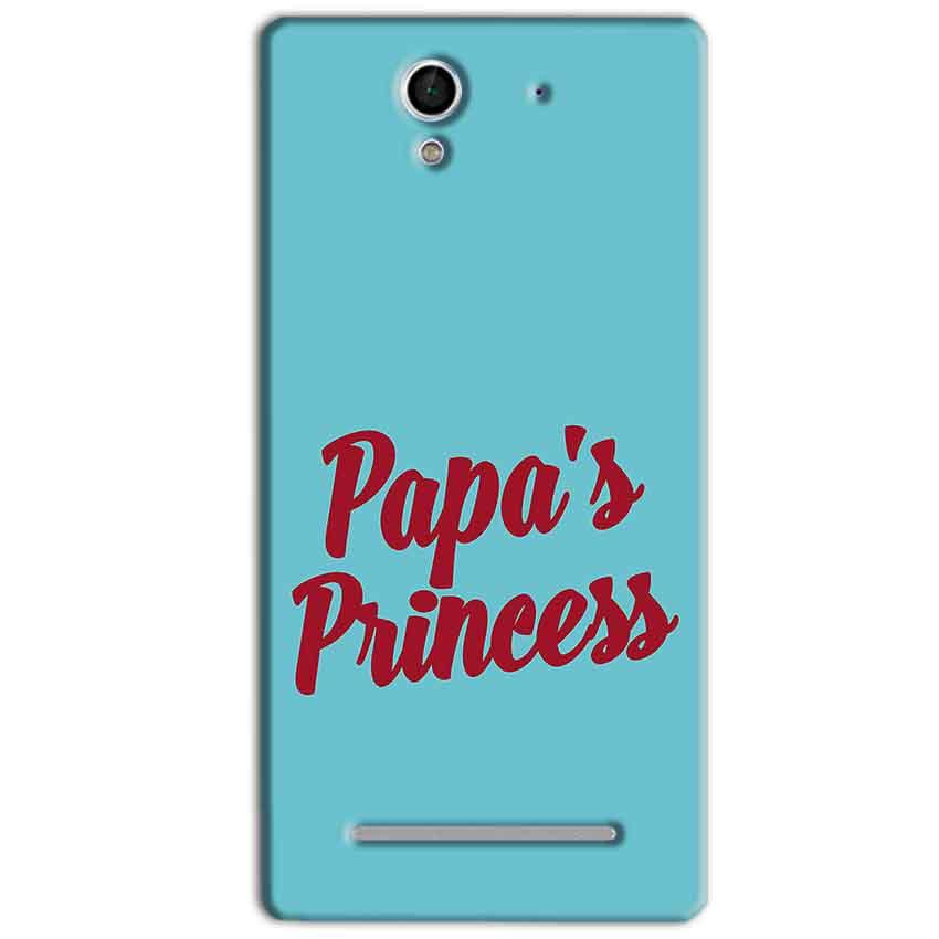 Sony Xperia C3 Mobile Covers Cases Papas Princess - Lowest Price - Paybydaddy.com
