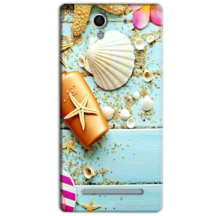 Sony Xperia C3 Mobile Covers Cases Pearl Star Fish - Lowest Price - Paybydaddy.com