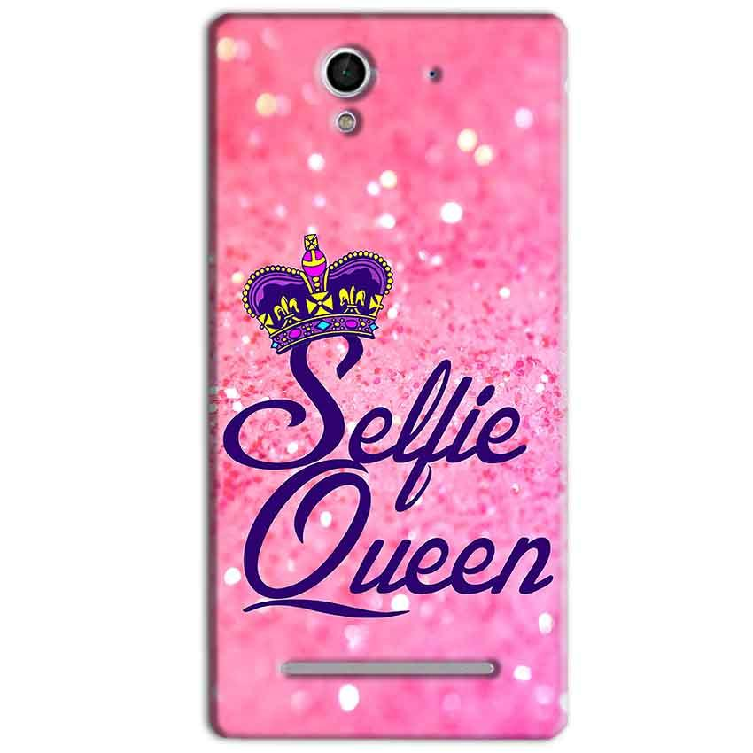Sony Xperia C3 Mobile Covers Cases Selfie Queen - Lowest Price - Paybydaddy.com