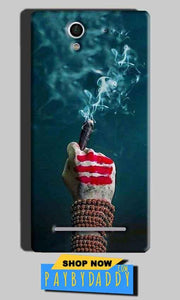 Sony Xperia C3 Mobile Covers Cases Shiva Hand With Clilam - Lowest Price - Paybydaddy.com