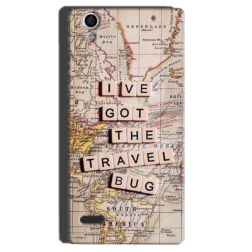 Sony Xperia C4 Mobile Covers Cases Live Travel Bug - Lowest Price - Paybydaddy.com