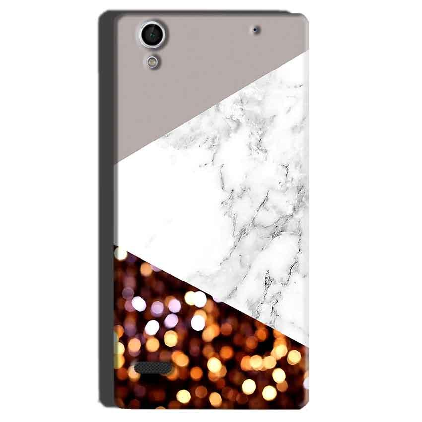 Sony Xperia C4 Mobile Covers Cases MARBEL GLITTER - Lowest Price - Paybydaddy.com