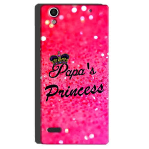 Sony Xperia C4 Mobile Covers Cases PAPA PRINCESS - Lowest Price - Paybydaddy.com