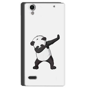 Sony Xperia C4 Mobile Covers Cases Panda Dab - Lowest Price - Paybydaddy.com