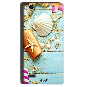 Sony Xperia C4 Mobile Covers Cases Pearl Star Fish - Lowest Price - Paybydaddy.com