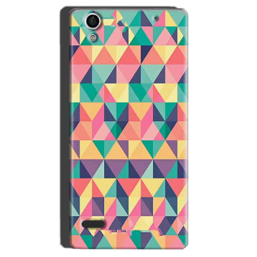 Sony Xperia C4 Mobile Covers Cases Prisma coloured design - Lowest Price - Paybydaddy.com