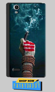 Sony Xperia C4 Mobile Covers Cases Shiva Hand With Clilam - Lowest Price - Paybydaddy.com