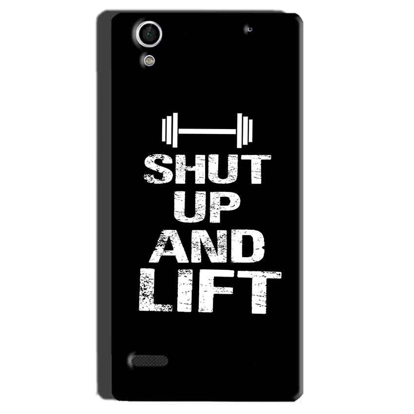 Sony Xperia C4 Mobile Covers Cases Shut Up And Lift - Lowest Price - Paybydaddy.com