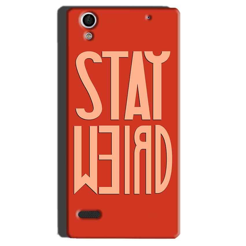 Sony Xperia C4 Mobile Covers Cases Stay Weird - Lowest Price - Paybydaddy.com