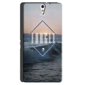 Sony Xperia C5 Mobile Covers Cases Forget Quote Something Different - Lowest Price - Paybydaddy.com