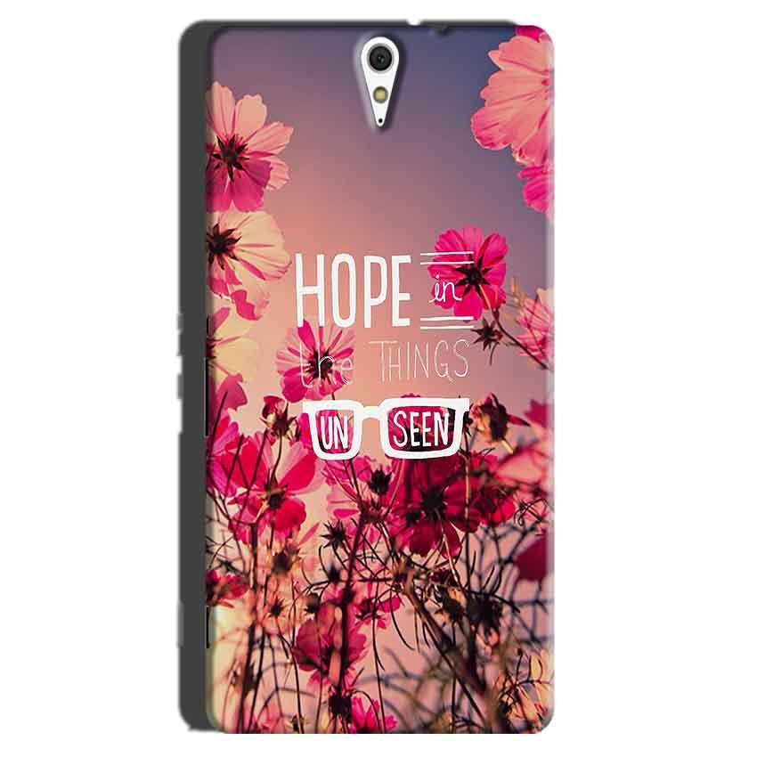 Sony Xperia C5 Mobile Covers Cases Hope in the Things Unseen- Lowest Price - Paybydaddy.com