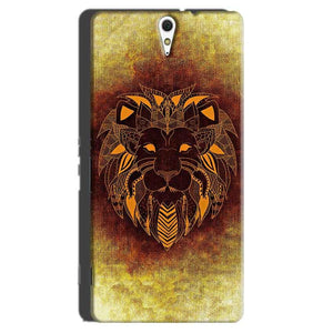 Sony Xperia C5 Mobile Covers Cases Lion face art - Lowest Price - Paybydaddy.com