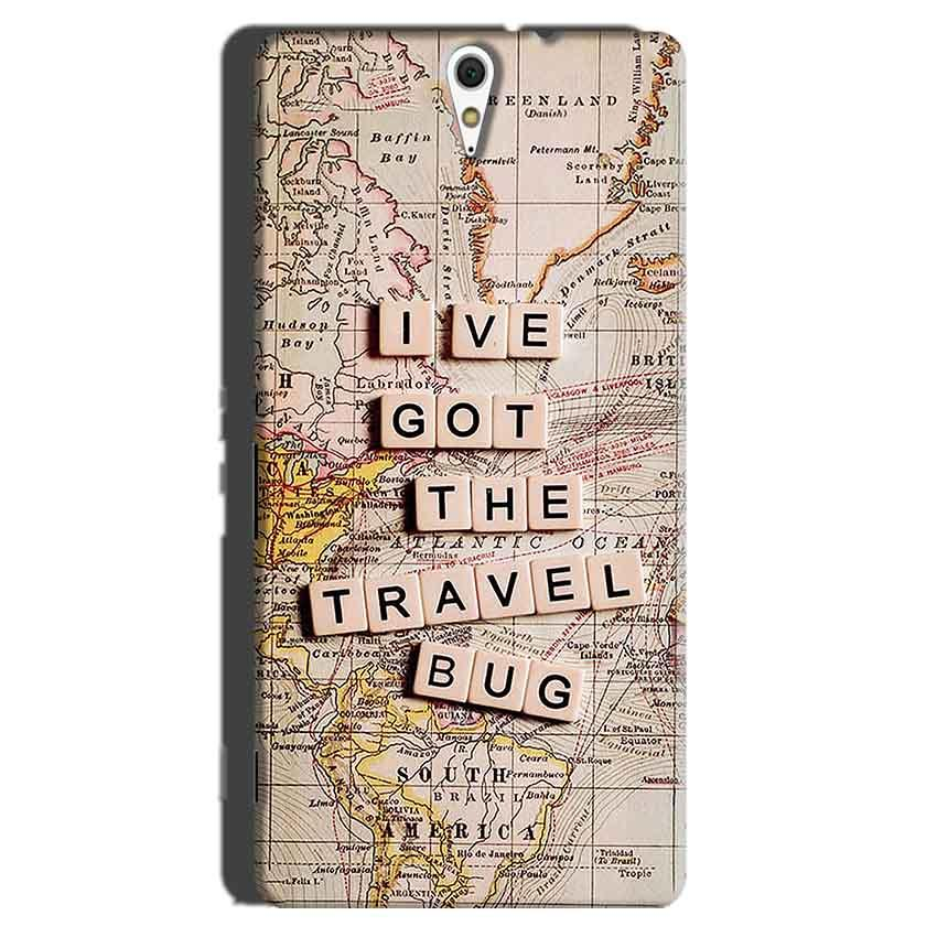 Sony Xperia C5 Mobile Covers Cases Live Travel Bug - Lowest Price - Paybydaddy.com