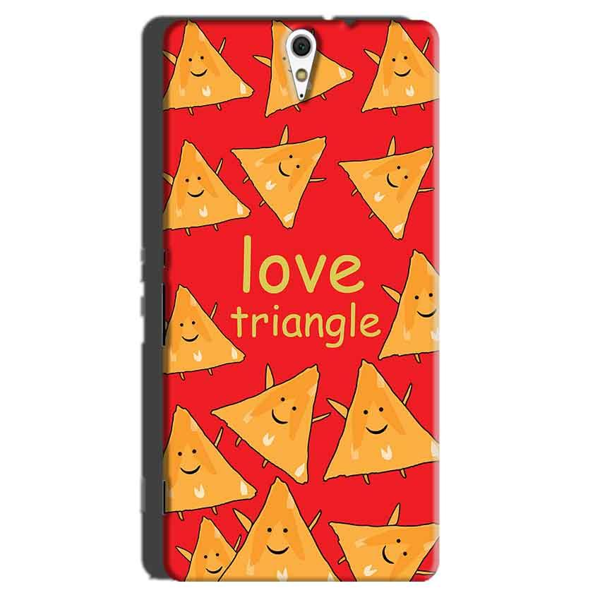 Sony Xperia C5 Mobile Covers Cases Love Triangle - Lowest Price - Paybydaddy.com