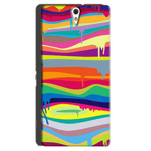 Sony Xperia C5 Mobile Covers Cases Melted colours - Lowest Price - Paybydaddy.com