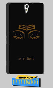 Sony Xperia C5 Mobile Covers Cases Om Namaha Gold Black - Lowest Price - Paybydaddy.com