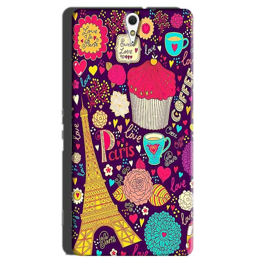 Sony Xperia C5 Mobile Covers Cases Paris Sweet love - Lowest Price - Paybydaddy.com