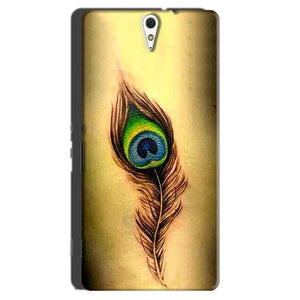 Sony Xperia C5 Mobile Covers Cases Peacock coloured art - Lowest Price - Paybydaddy.com