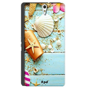 Sony Xperia C5 Mobile Covers Cases Pearl Star Fish - Lowest Price - Paybydaddy.com
