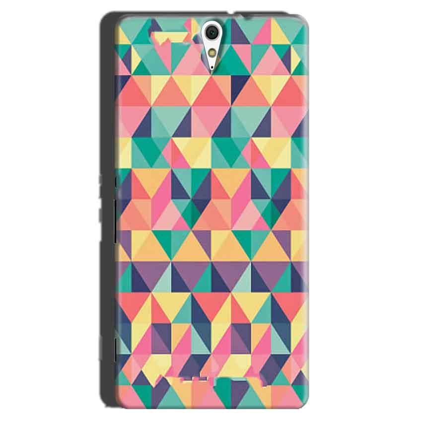 Sony Xperia C5 Mobile Covers Cases Prisma coloured design - Lowest Price - Paybydaddy.com