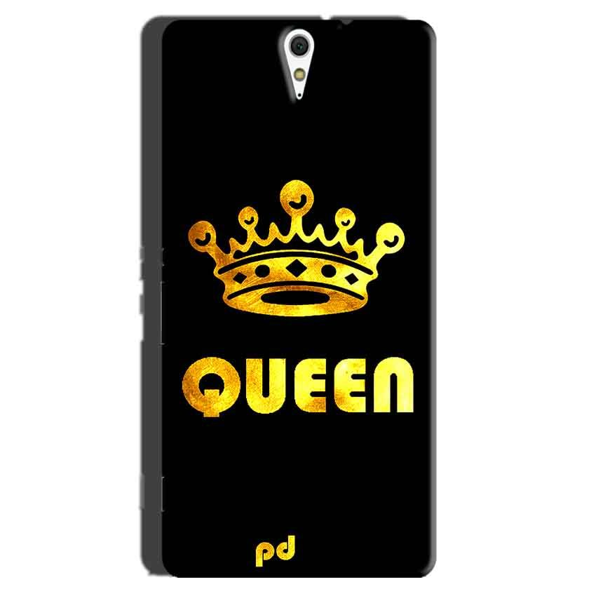 Sony Xperia C5 Mobile Covers Cases Queen With Crown in gold - Lowest Price - Paybydaddy.com
