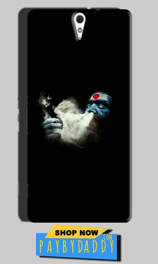 Sony Xperia C5 Mobile Covers Cases Shiva Aghori Smoking - Lowest Price - Paybydaddy.com