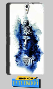 Sony Xperia C5 Mobile Covers Cases Shiva Blue White - Lowest Price - Paybydaddy.com