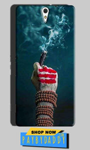 Sony Xperia C5 Mobile Covers Cases Shiva Hand With Clilam - Lowest Price - Paybydaddy.com
