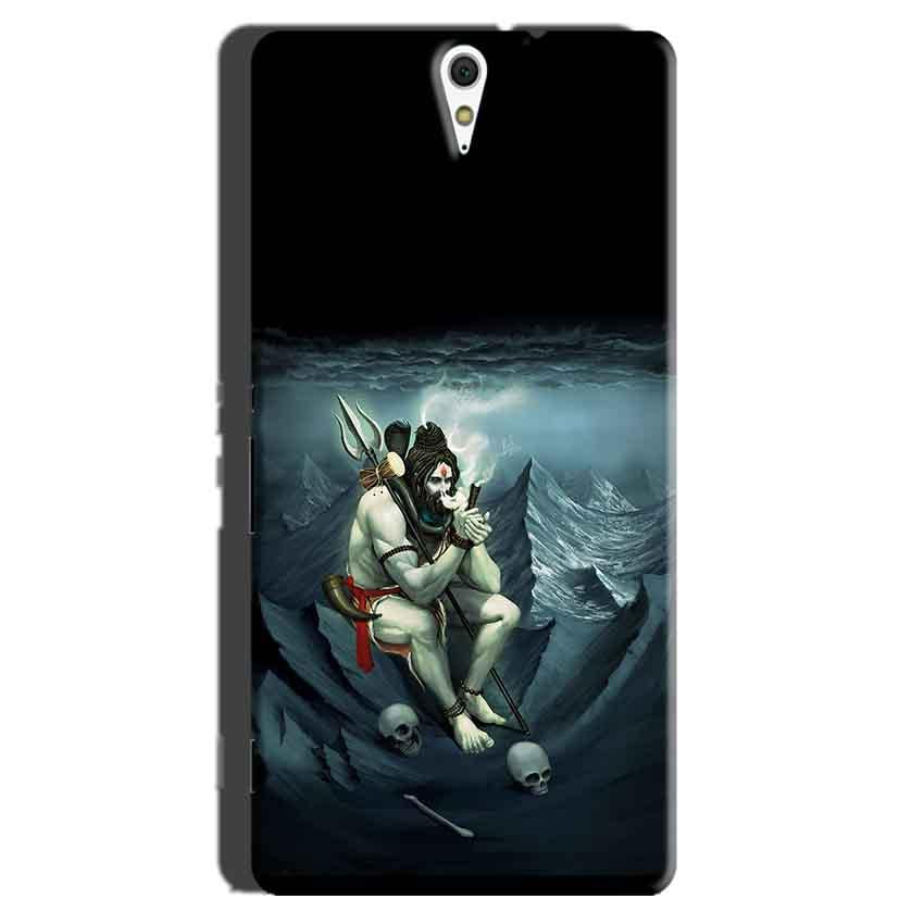 Sony Xperia C5 Mobile Covers Cases Shiva Smoking - Lowest Price - Paybydaddy.com