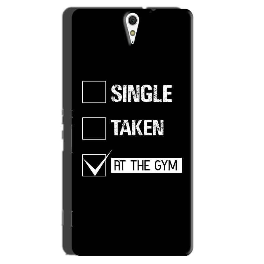 Sony Xperia C5 Mobile Covers Cases Single Taken At The Gym - Lowest Price - Paybydaddy.com