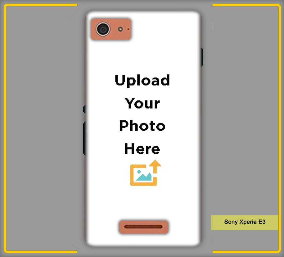 CustomizedIntex Sony Xperia E3 4s Mobile Phone Covers & Back Covers with your Text & Photo