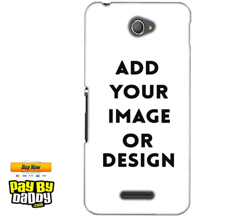 Customized Sony Xperia E4 Mobile Phone Covers & Back Covers with your Text & Photo