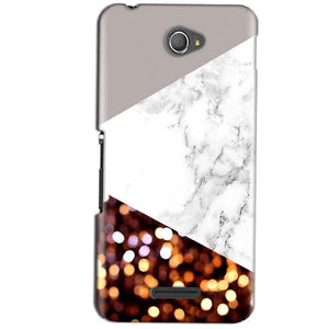 Sony Xperia E4 Mobile Covers Cases MARBEL GLITTER - Lowest Price - Paybydaddy.com