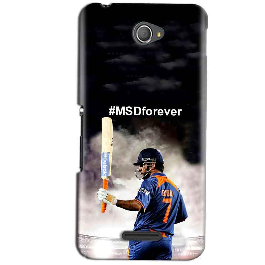 Sony Xperia E4 Mobile Covers Cases MS dhoni Forever - Lowest Price - Paybydaddy.com