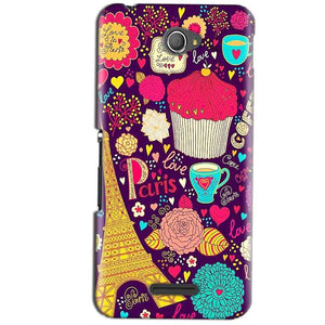 Sony Xperia E4 Mobile Covers Cases Paris Sweet love - Lowest Price - Paybydaddy.com