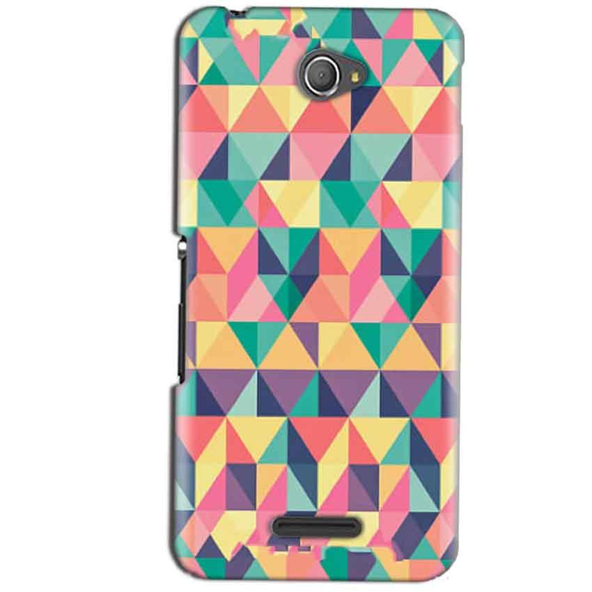Sony Xperia E4 Mobile Covers Cases Prisma coloured design - Lowest Price - Paybydaddy.com