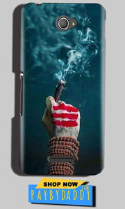 Sony Xperia E4 Mobile Covers Cases Shiva Hand With Clilam - Lowest Price - Paybydaddy.com