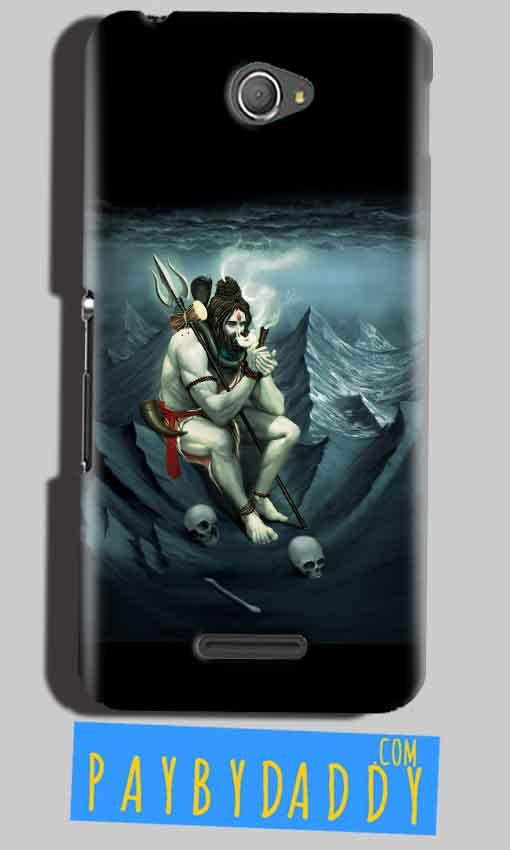 Sony Xperia E4 Mobile Covers Cases Shiva Smoking - Lowest Price - Paybydaddy.com