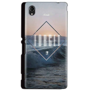 Sony Xperia M4 Aqua Mobile Covers Cases Forget Quote Something Different - Lowest Price - Paybydaddy.com