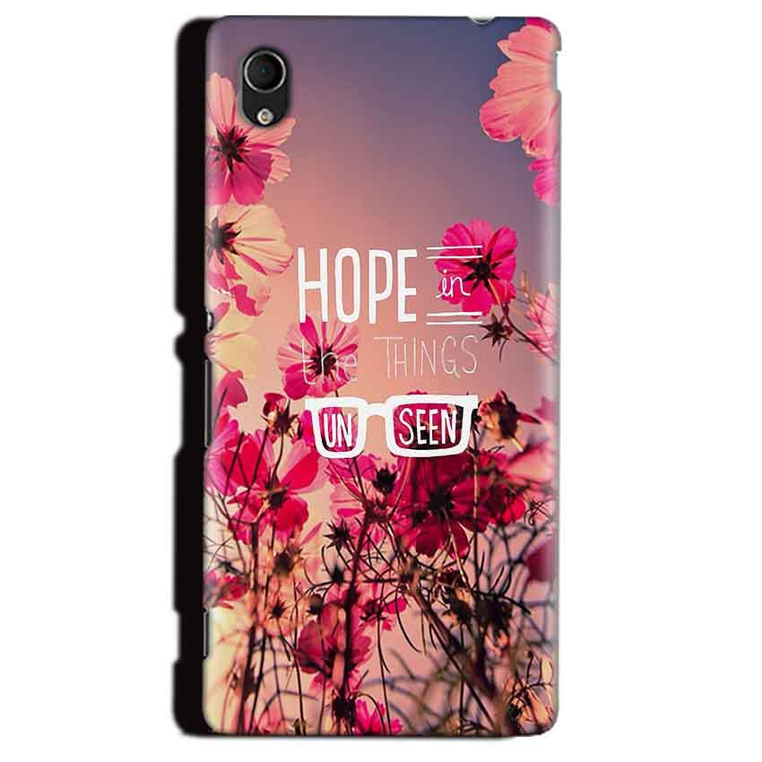 Sony Xperia M4 Aqua Mobile Covers Cases Hope in the Things Unseen- Lowest Price - Paybydaddy.com
