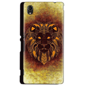 Sony Xperia M4 Aqua Mobile Covers Cases Lion face art - Lowest Price - Paybydaddy.com