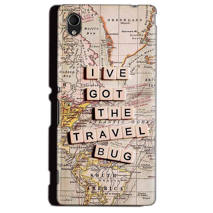 Sony Xperia M4 Aqua Mobile Covers Cases Live Travel Bug - Lowest Price - Paybydaddy.com