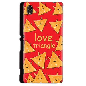 Sony Xperia M4 Aqua Mobile Covers Cases Love Triangle - Lowest Price - Paybydaddy.com