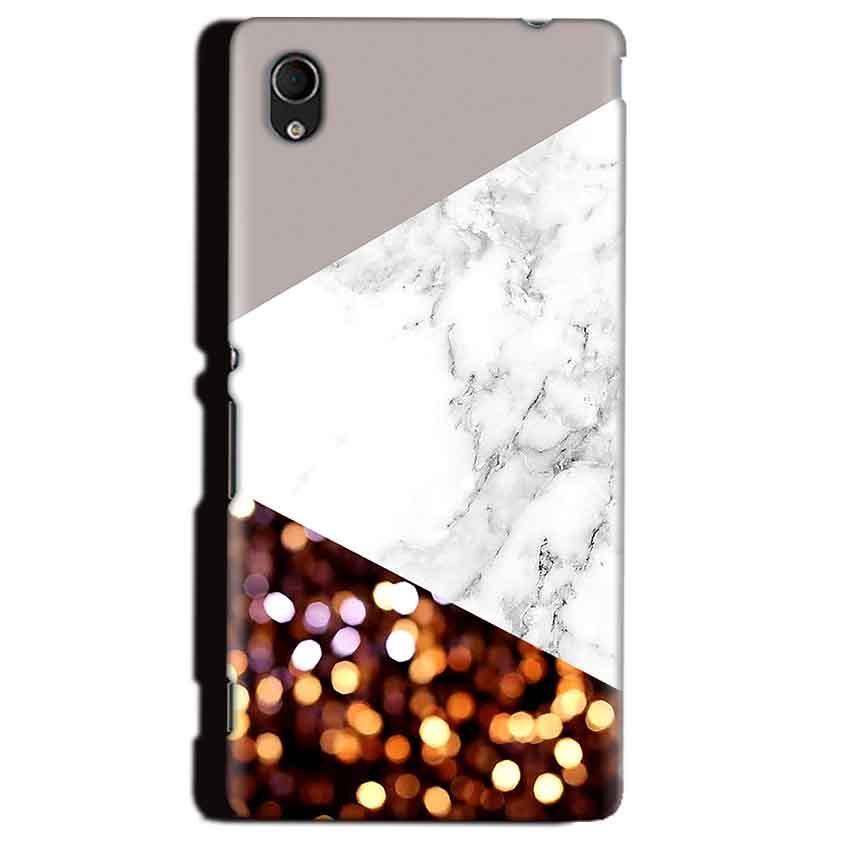 Sony Xperia M4 Aqua Mobile Covers Cases MARBEL GLITTER - Lowest Price - Paybydaddy.com