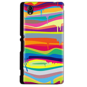 Sony Xperia M4 Aqua Mobile Covers Cases Melted colours - Lowest Price - Paybydaddy.com