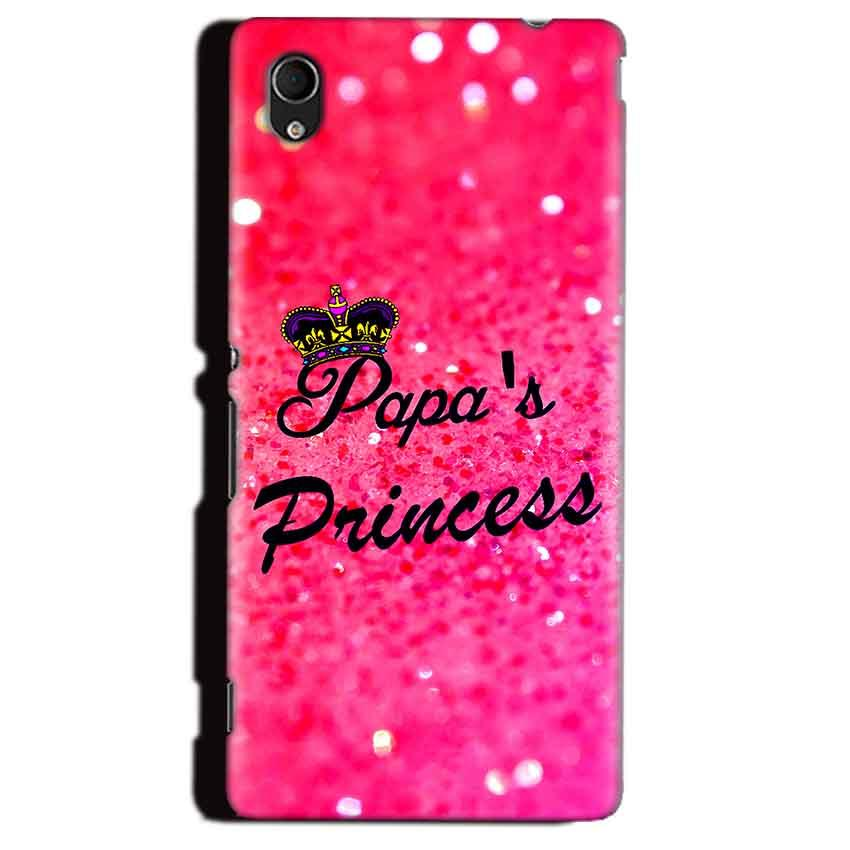 Sony Xperia M4 Aqua Mobile Covers Cases PAPA PRINCESS - Lowest Price - Paybydaddy.com