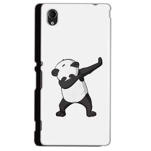 Sony Xperia M4 Aqua Mobile Covers Cases Panda Dab - Lowest Price - Paybydaddy.com