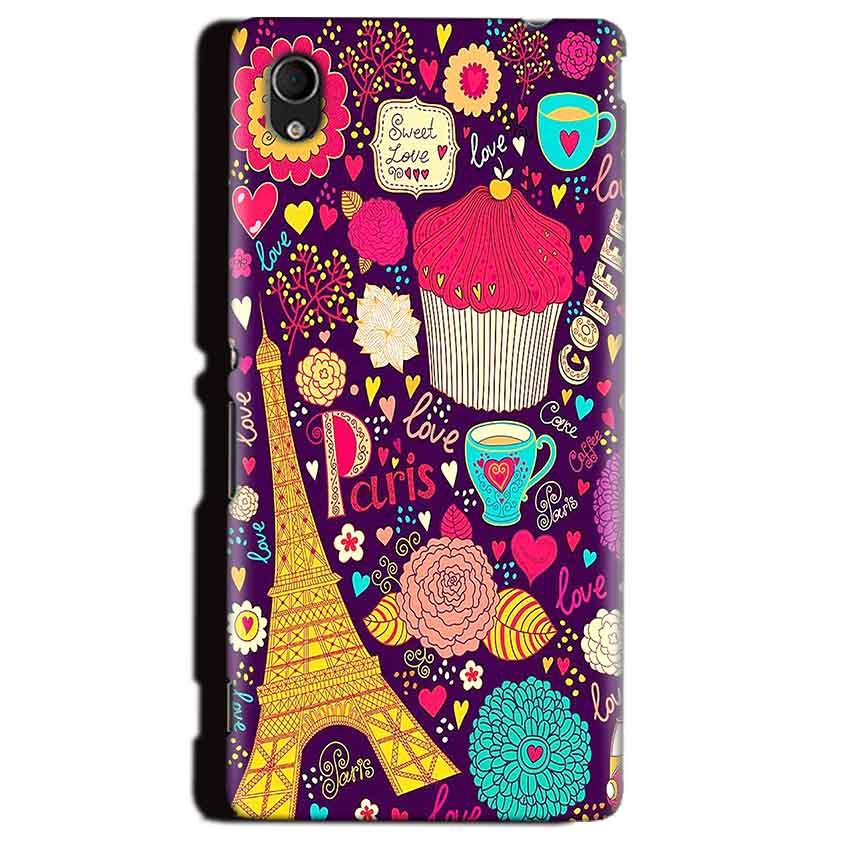 Sony Xperia M4 Aqua Mobile Covers Cases Paris Sweet love - Lowest Price - Paybydaddy.com