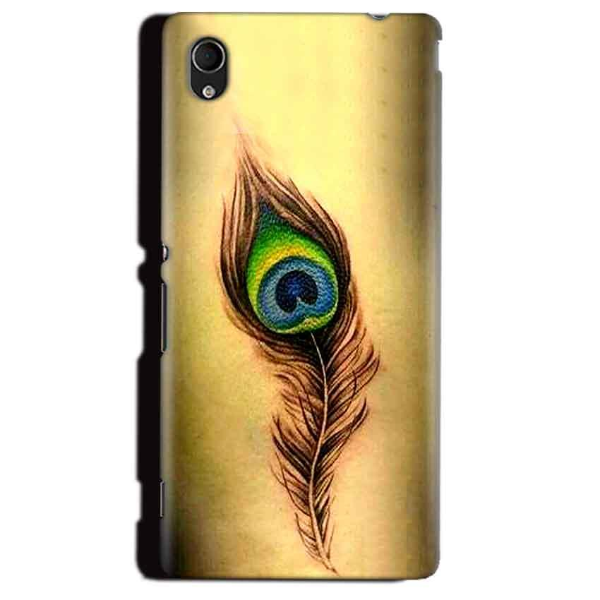 Sony Xperia M4 Aqua Mobile Covers Cases Peacock coloured art - Lowest Price - Paybydaddy.com