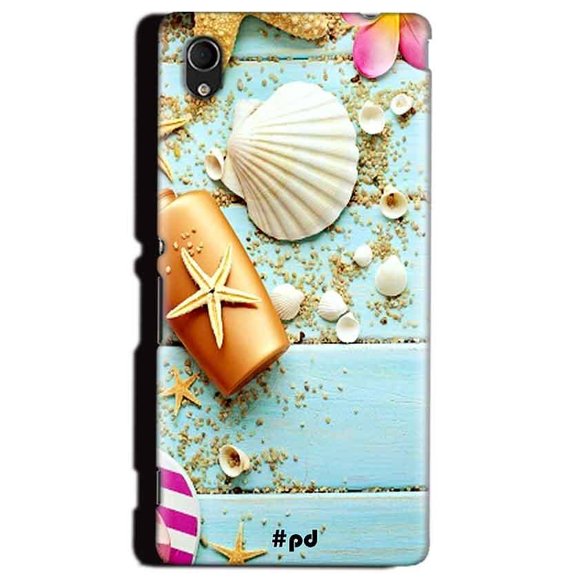 Sony Xperia M4 Aqua Mobile Covers Cases Pearl Star Fish - Lowest Price - Paybydaddy.com